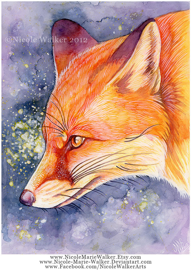 Speckled Fox by Nicole-Marie-Walker