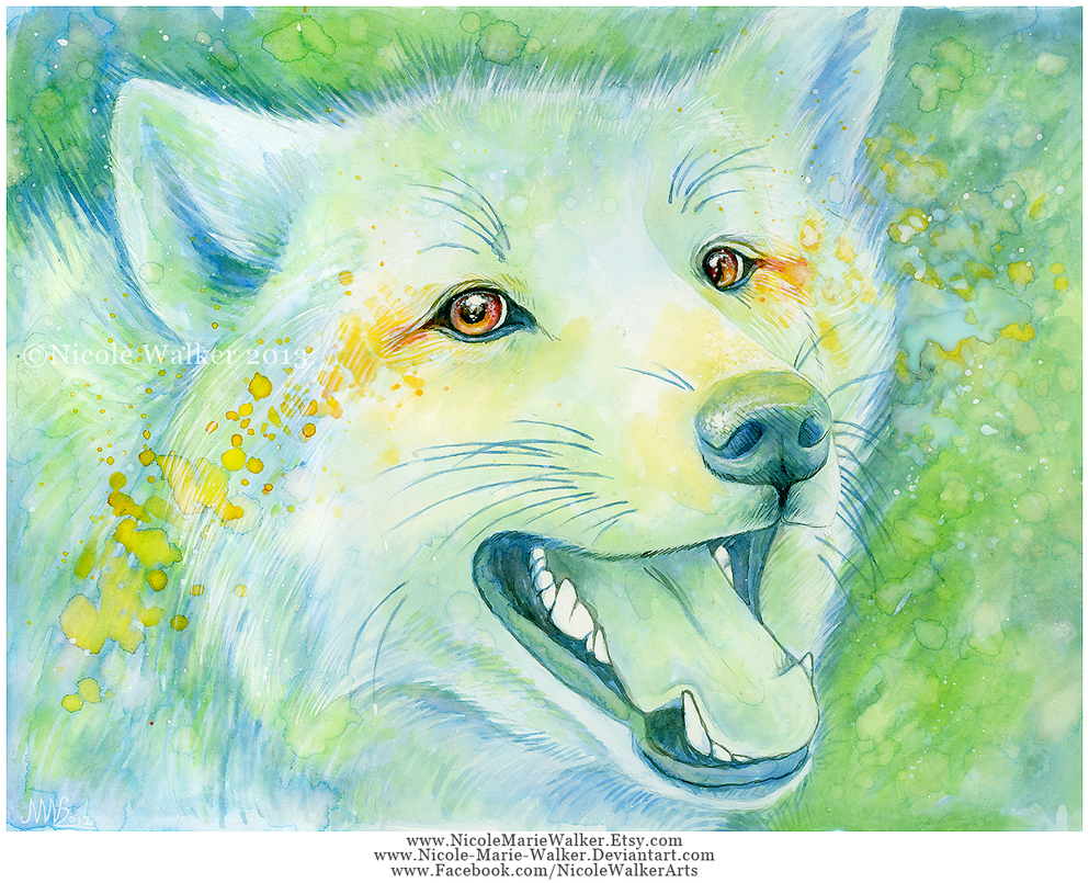 Wolf Eyes by Nicole-Marie-Walker