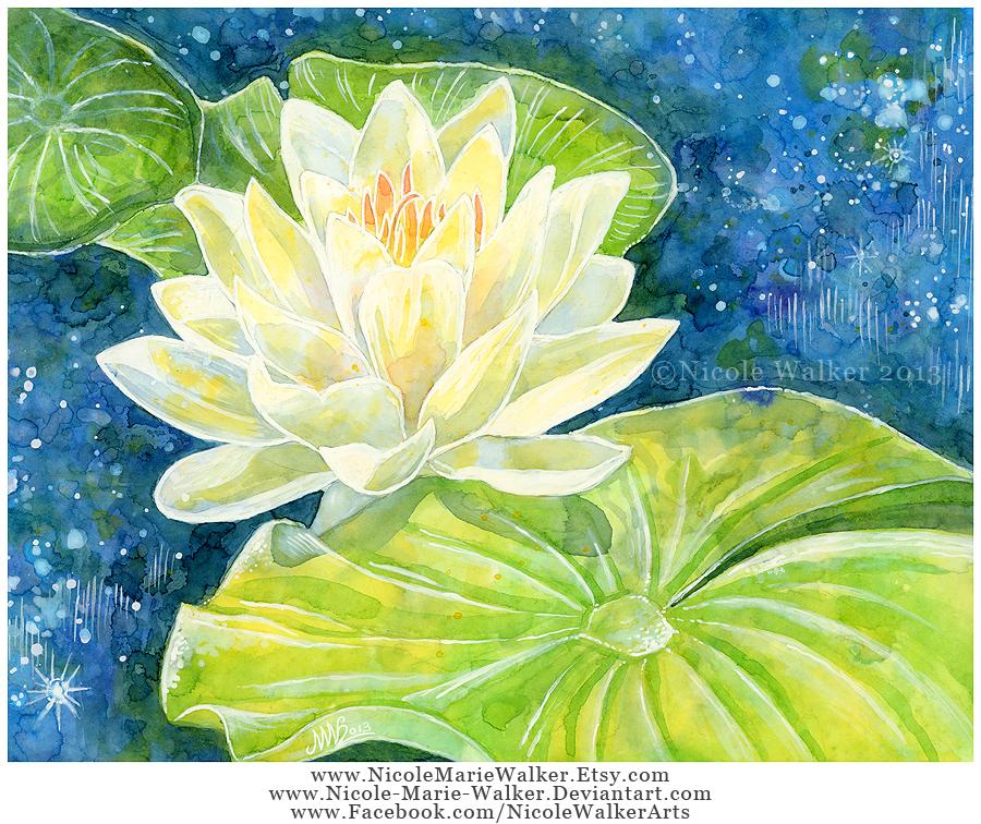 Water Lilies by Nicole-Marie-Walker