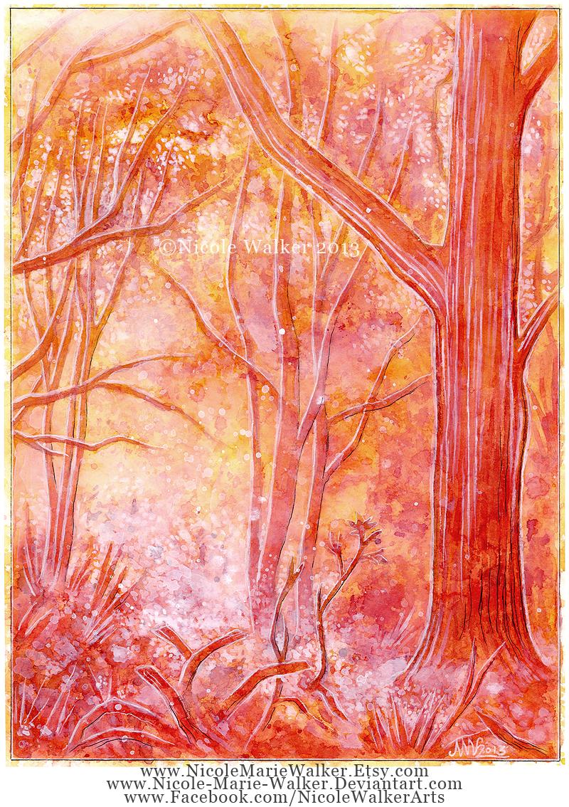 Fiery Landscape by Nicole-Marie-Walker