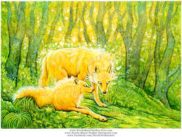 Enchanted Wolves by Nicole-Marie-Walker