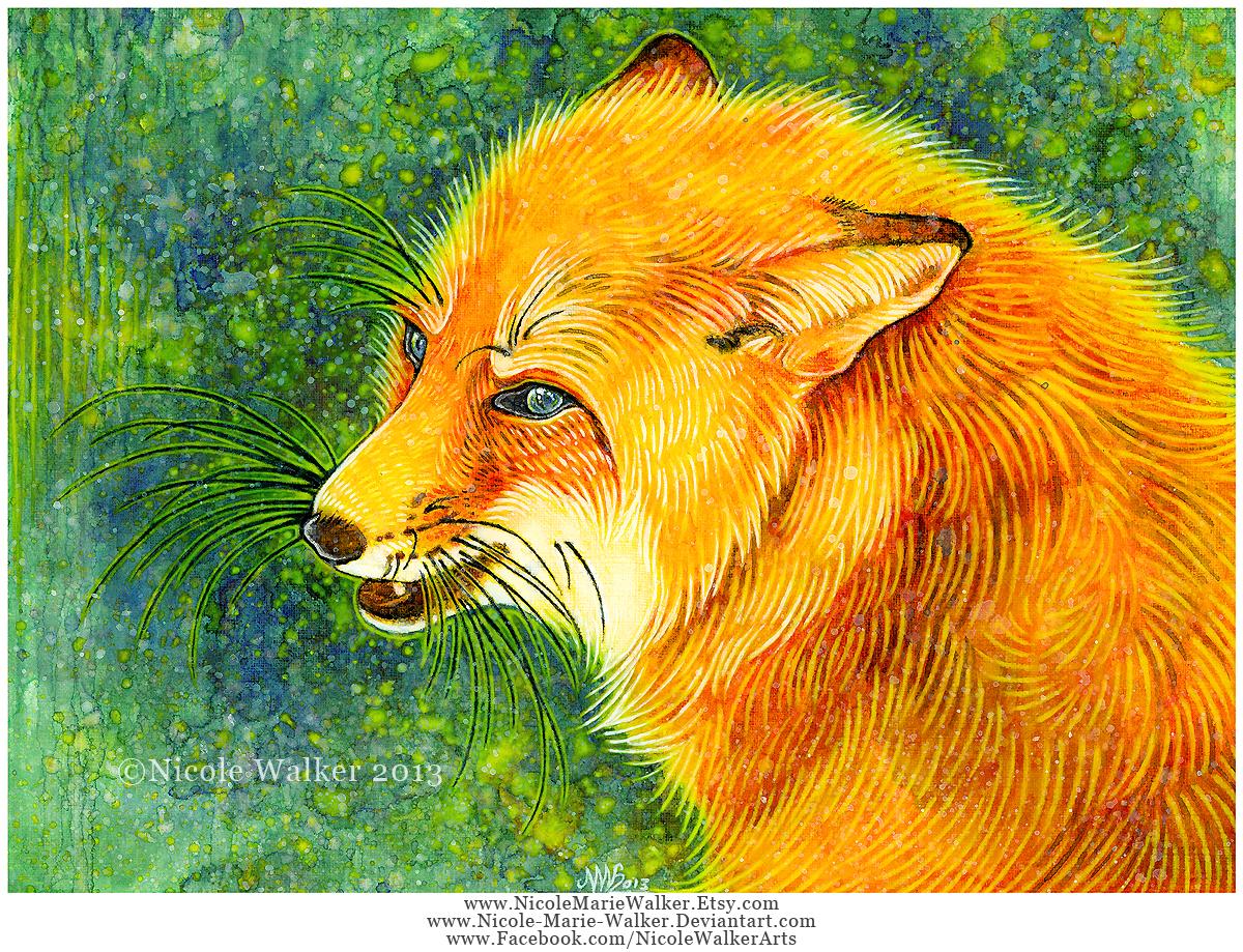 Flirty Fox by Nicole-Marie-Walker