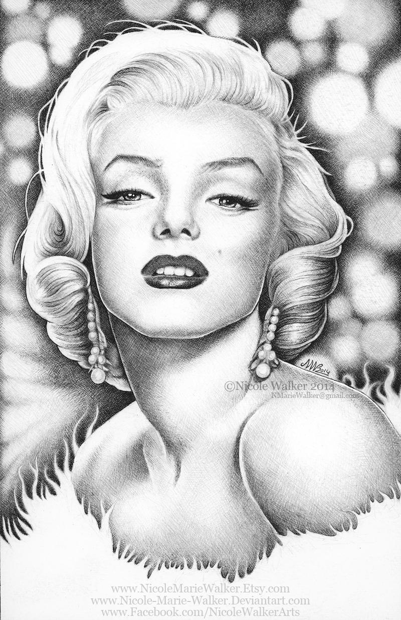 Marilyn Monroe Commission By Nicole Marie Walker On Deviantart