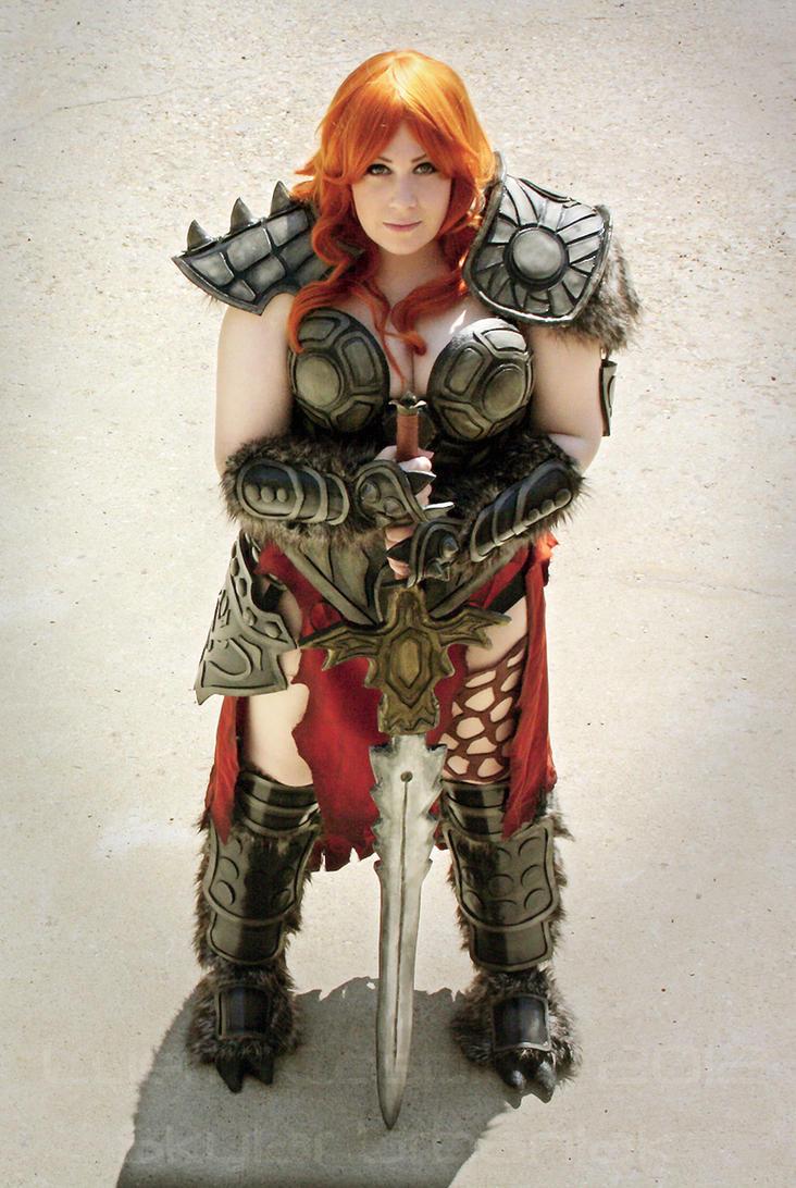 Diablo 3 Barbarian II by lyeric