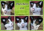 Dutchess 2.0 [Fursuit Head]
