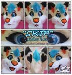 Skip-Fursuit Head