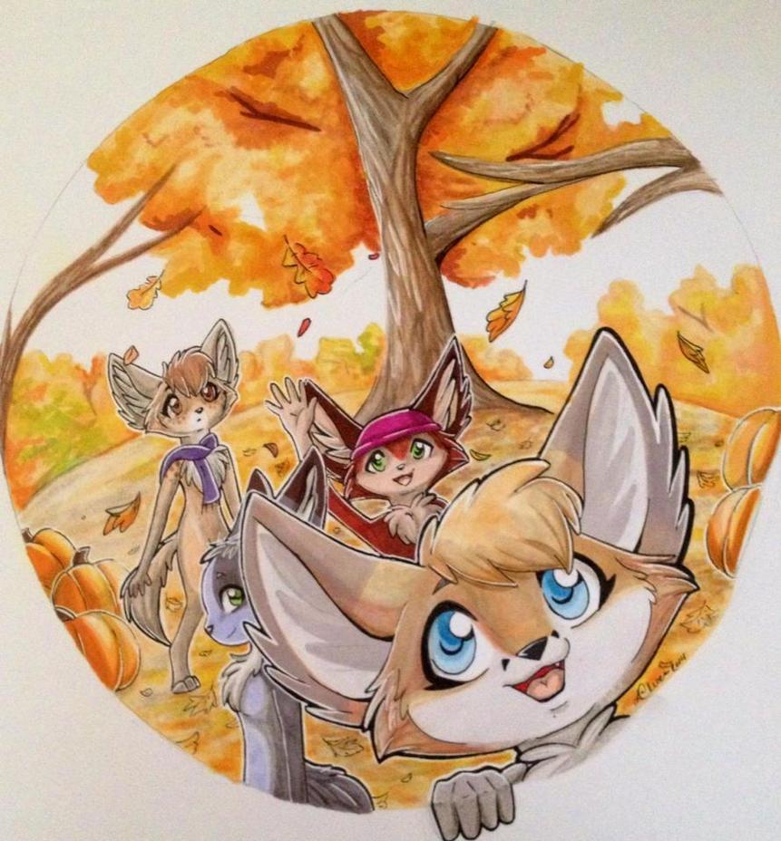Hello Autumn! by TheGreenCoyote