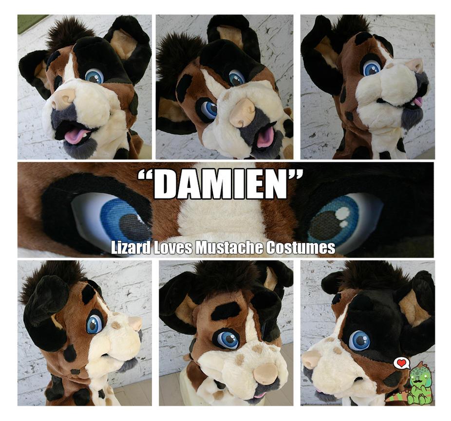 Damien [Head] by TheGreenCoyote