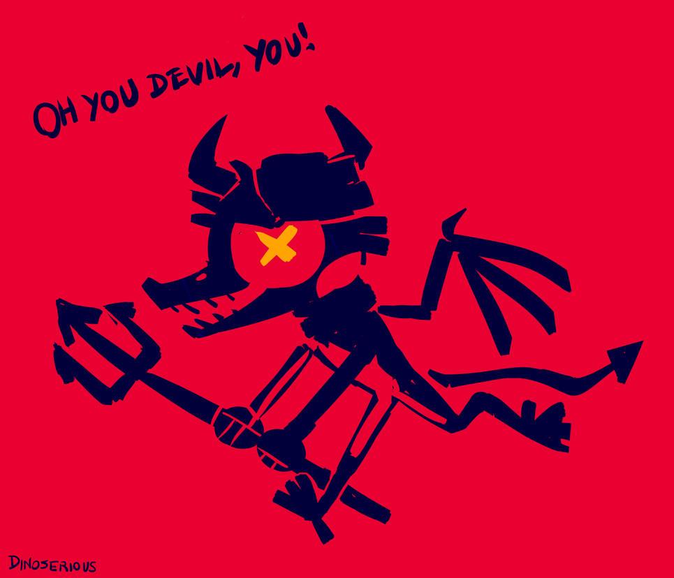 oh you devil! by Halvochin