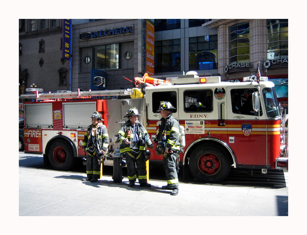 Firefighters - NYC by G497 on DeviantArt