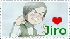 Jiro stamp by mephilesxdarkness