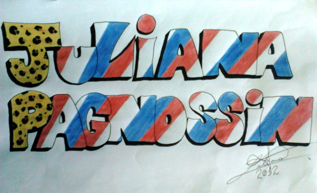 my name in graffiti style by LupinaEqqus07 on deviantART
