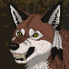 Saidy Wolf Pixel Icon Commission by Juzoka-Vargulf-Eqqus