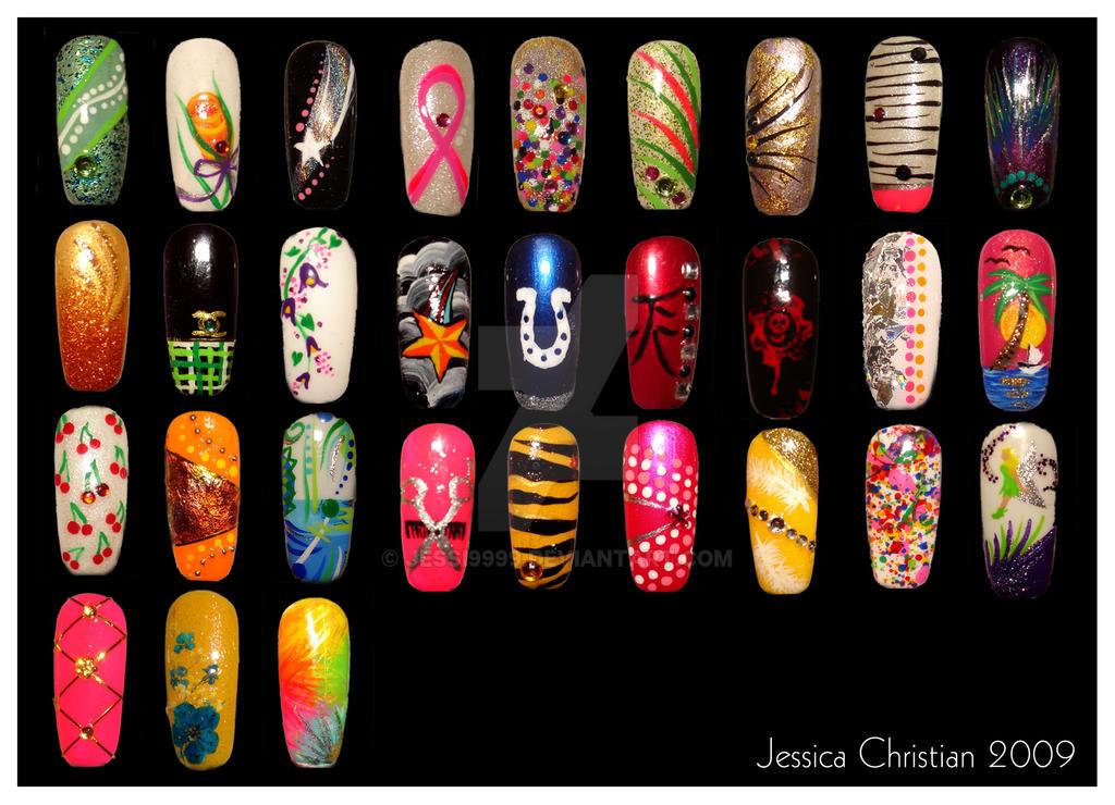 Nail Art 1 by Jessi9999