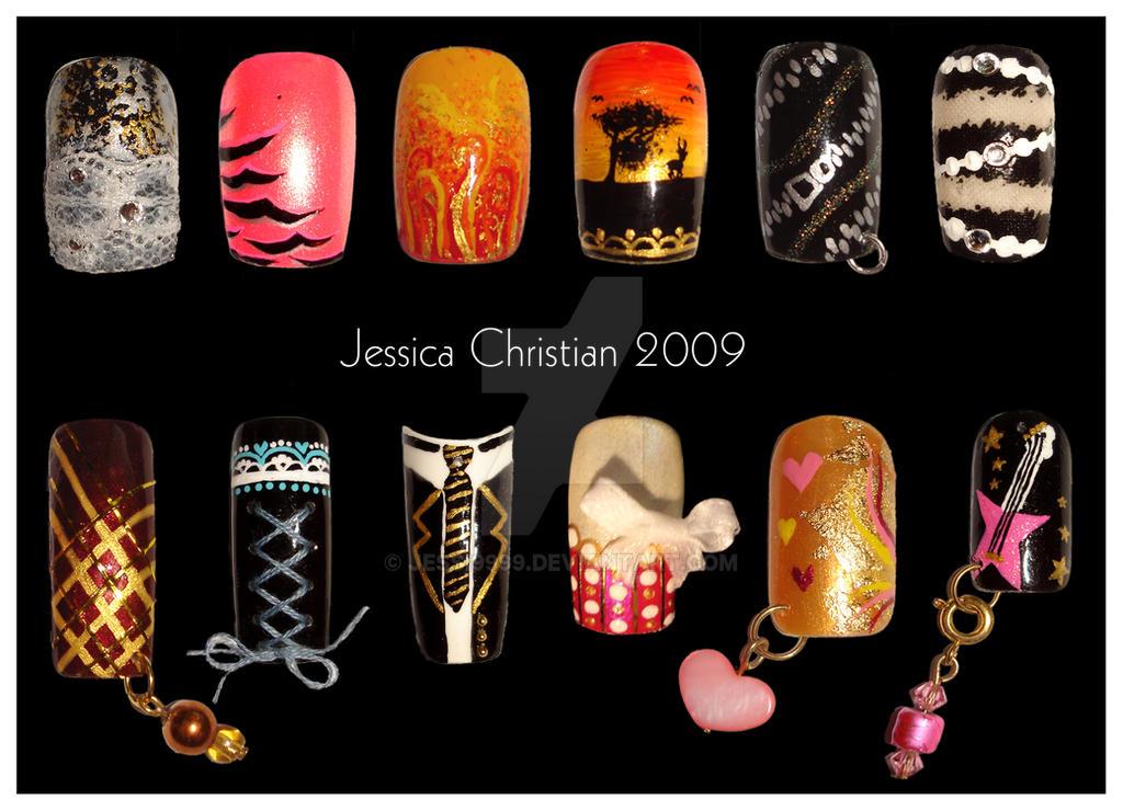Nail Art 2 by Jessi9999