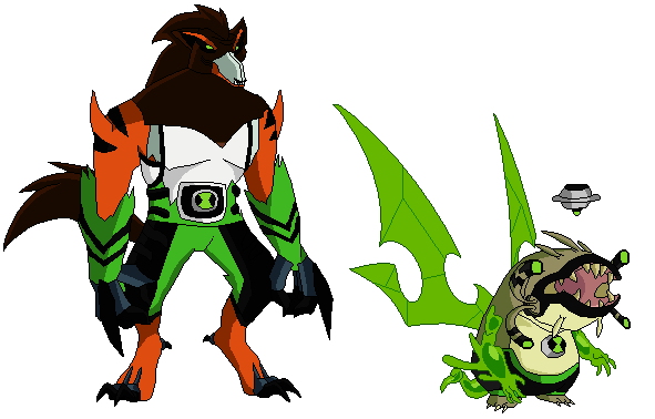 Rathzwolfer And Machine Of Slime by babyvegetto