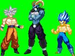 Goku Vegeta Y Moro