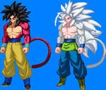 Goku Ssj4 Y Ssj5