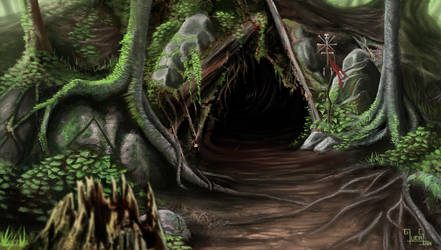The Witch lair by mucuss33