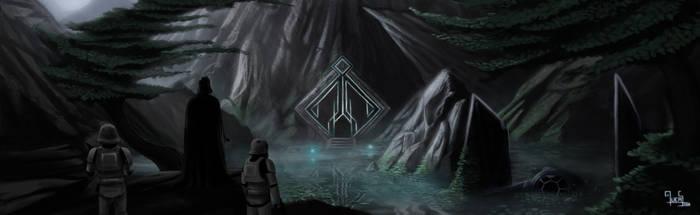 Assault on the Jedi shrine by mucuss33