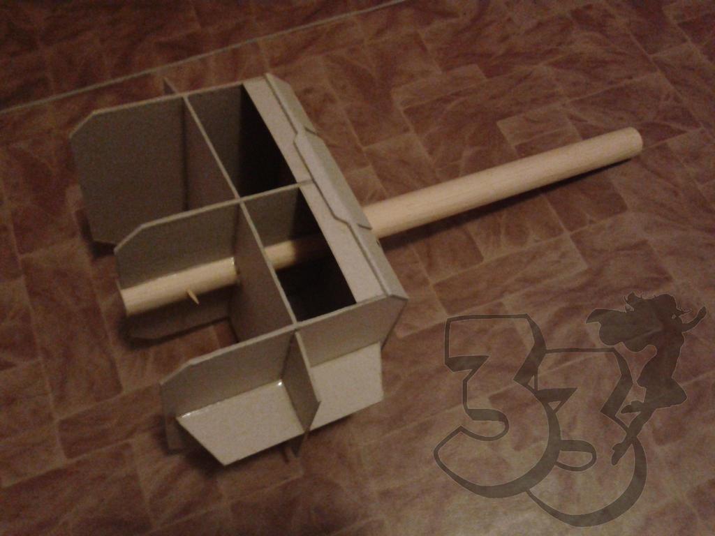 diy thor s hammer tutorial cosplay team33 2 by cosplayteam33 on