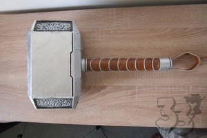 Thor's hammer DIY cosplay team33 (3) by cosplayteam33