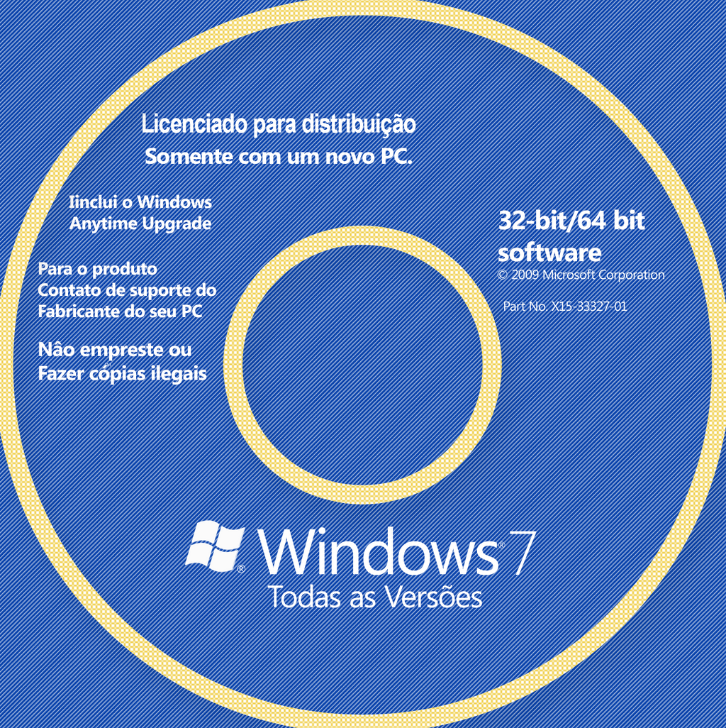 Windows 7 todas as verses 32 bits pt br