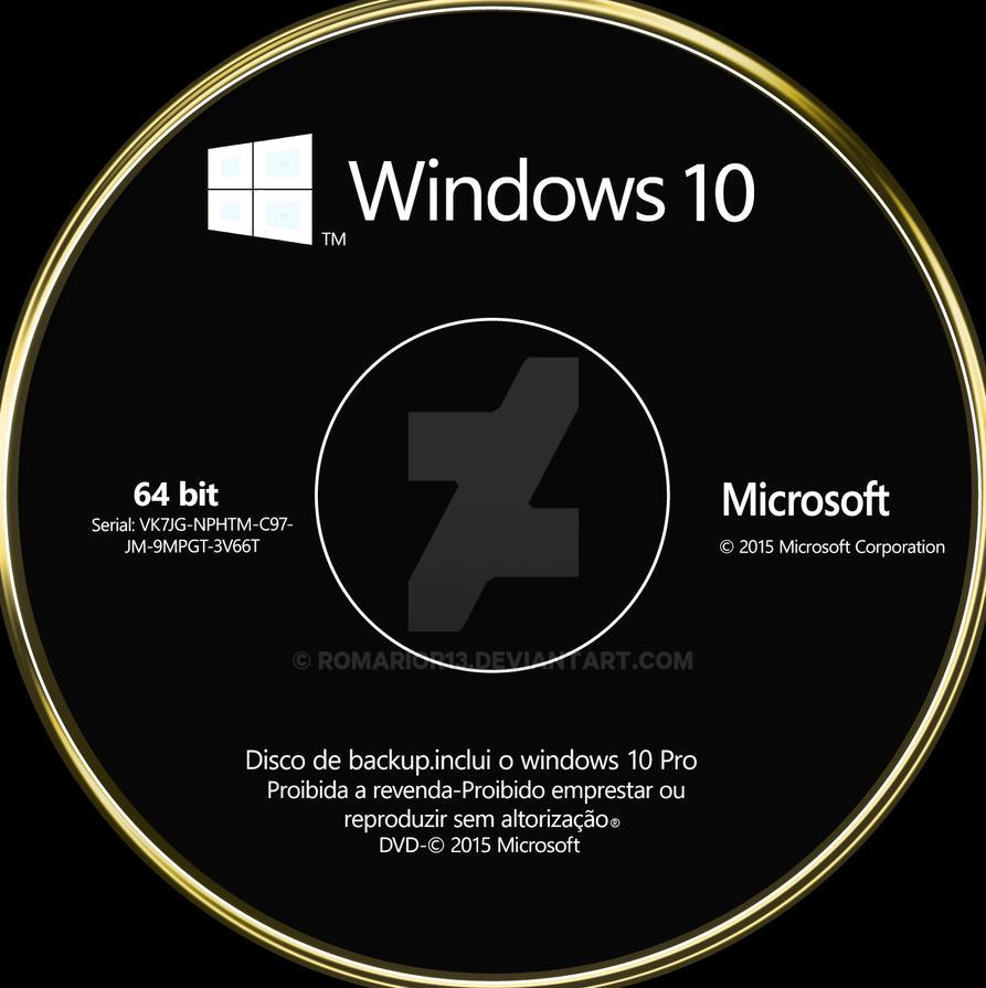 windows 10 dvd cover