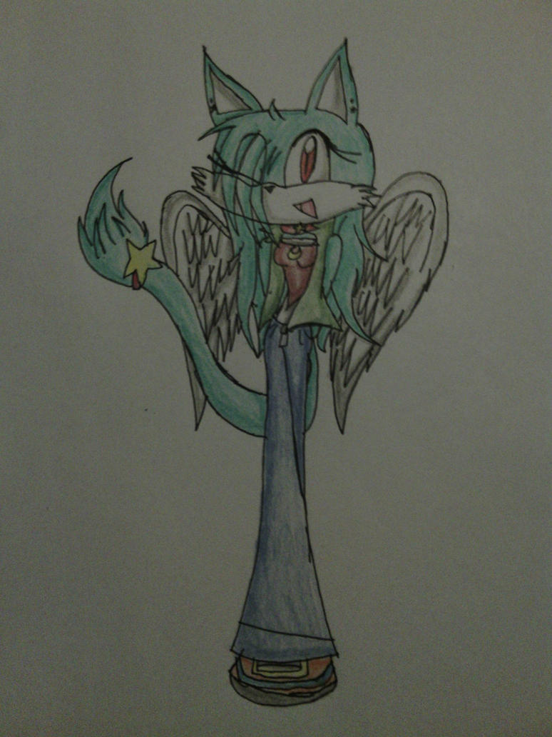 Kate The Angelcat by LisaTheMaster17