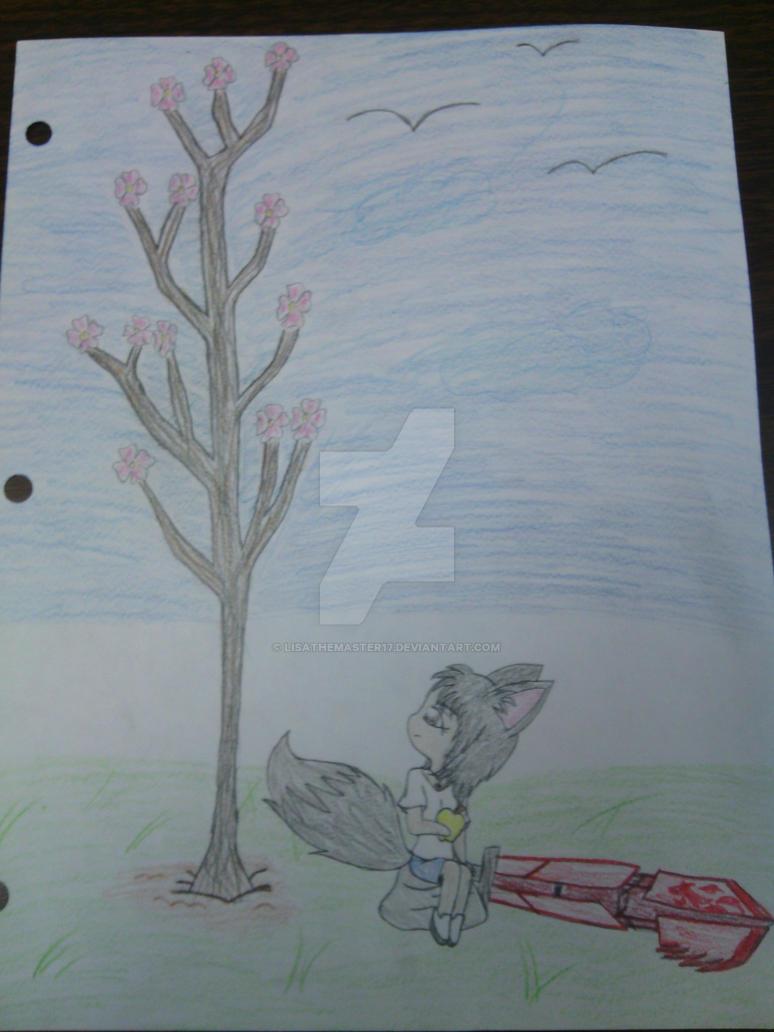 Cherry Blossom Tree by LisaTheMaster17