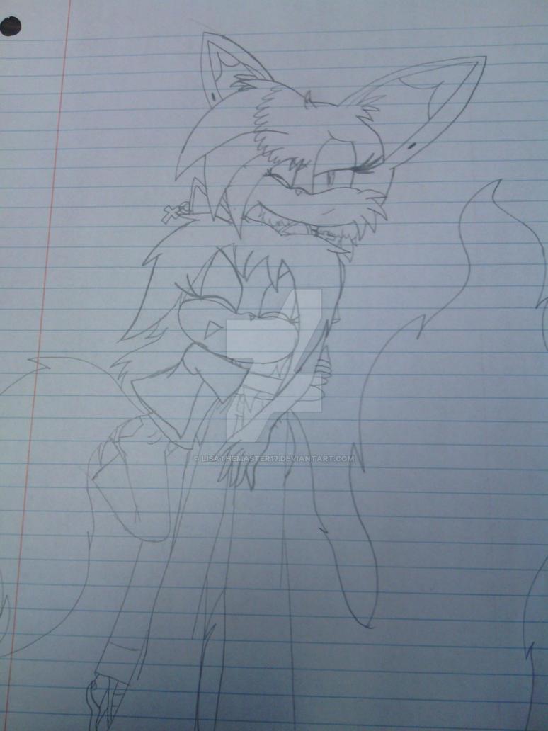 Kuroba and Lisa by LisaTheMaster17