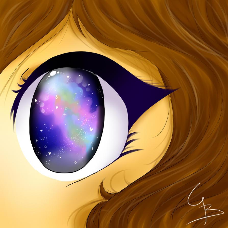 galaxy eye by CBsapphire124