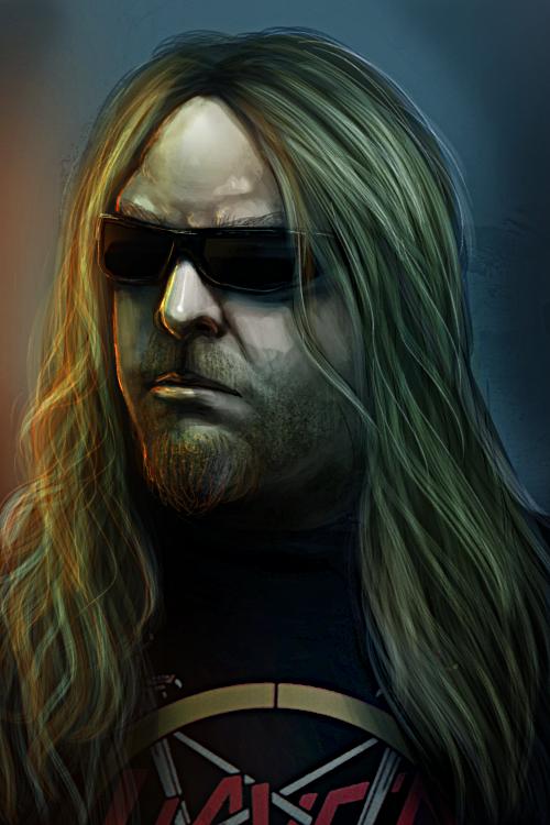 Jeff Hanneman by Nyogtha-Art on DeviantArt