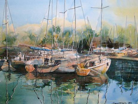 Boats at Mikolajki