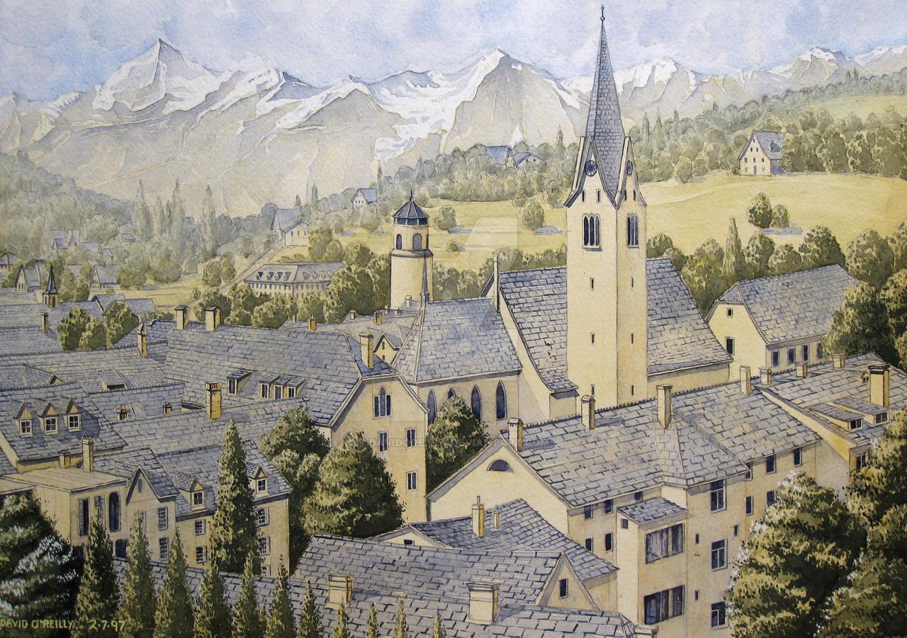 Feldkirch, Austria. by DavidOReilly