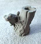 Tree Frog sculpt