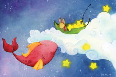 Fishing stars by billchan