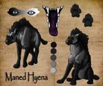 Maned Hyena Pose Ref