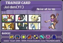 Trainer Card: JaidenAnimations by Pokatopia141