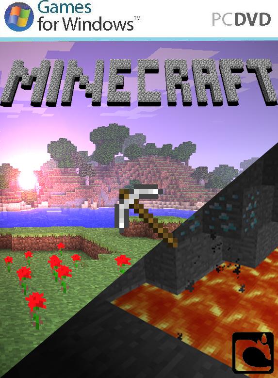 For Minecraft Pc Game Case : Minecraft game cover by delta vioz on deviantart