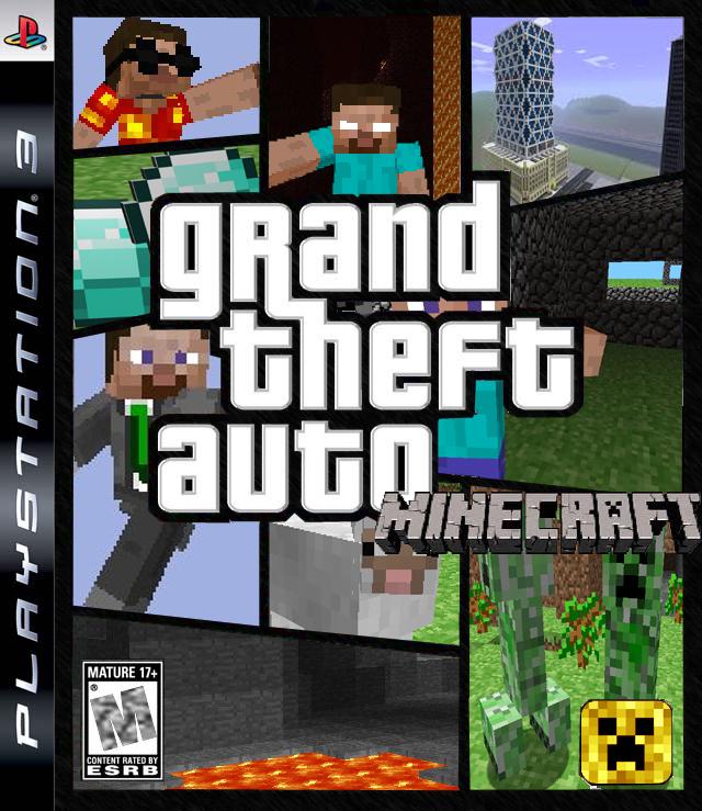 Gta minecraft скачать игру