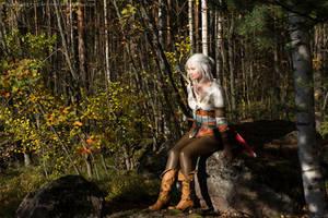 The Witcher 3: Wild Hunt, Cirilla by AmazingRogue