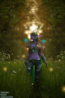 World of Warcraft, Ysera - Emerald Dream by AmazingRogue