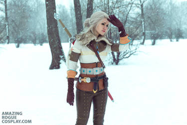 The Witcher 3. Ciri by AmazingRogue