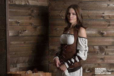 The Elder Scrolls V: Skyrim, civilian by AmazingRogue