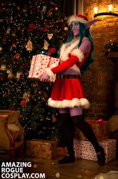 Winter Veil, NIght Elf