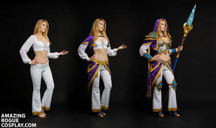 Jaina Warcraft III Reforged Cosplay Overview