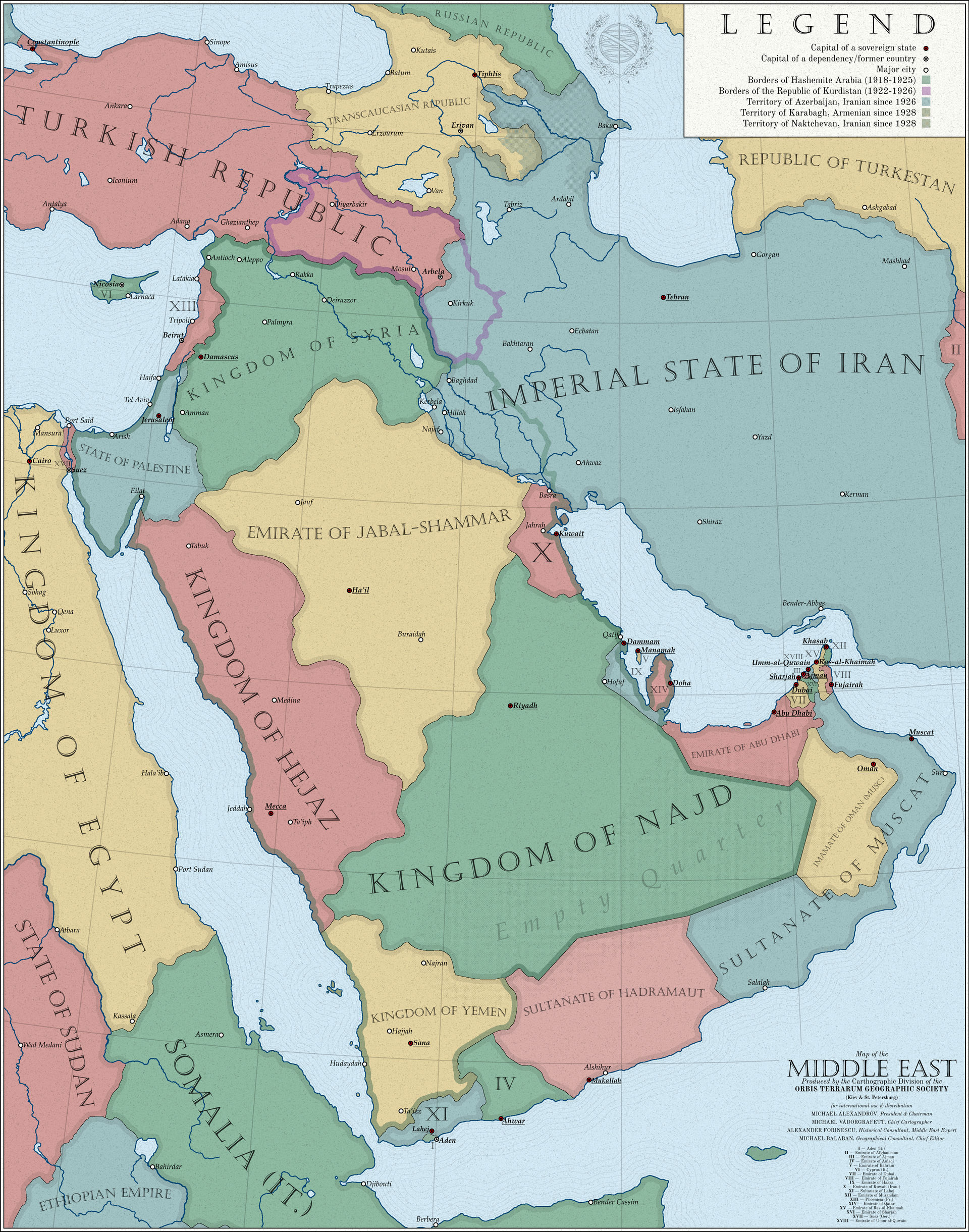 Map of the Middle East, 1936 [DSS] by mihaly-vadorgrafett on ...