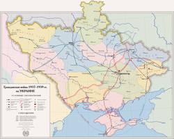 Ukrainian Civil War by mihaly-vadorgrafett
