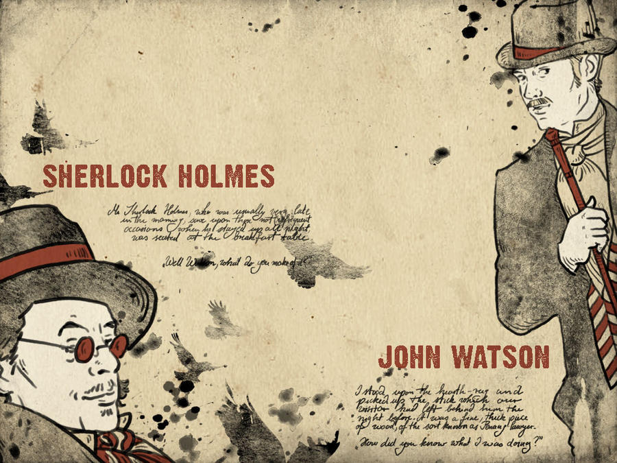 Sherlock Holmes Wallpaper II By Paperflower86